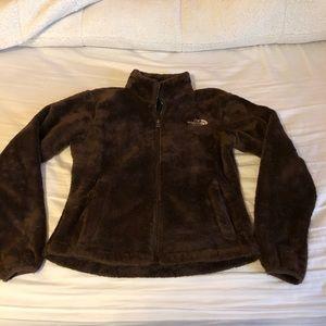 Xs north face fleece zip up jacket